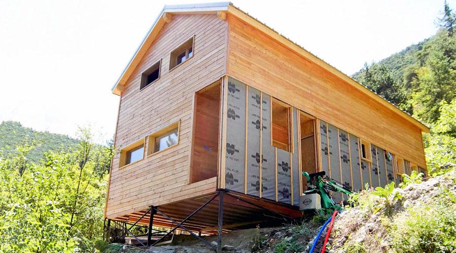 Pour ou contre la construction sur pieux nouvelle for Construire une maison en zone n