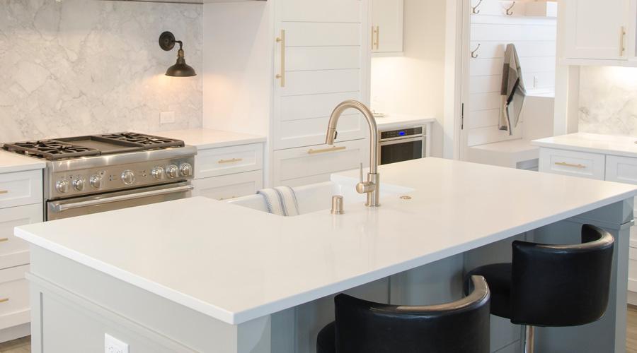 Choisir son nouveau comptoir pas juste un question de go t nouvelle cohabitation - Comptoir en granite prix ...
