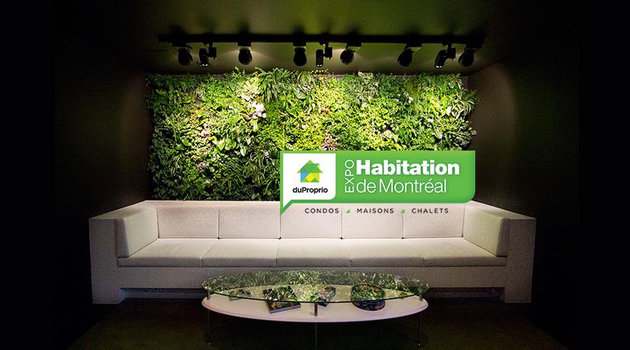 L 39 expohabitation de montr al de 2018 s 39 annonce en vert - Salon de l habitation montreal stade olympique ...