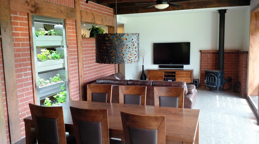 La maison kenogami un miracle d 39 efficacit nerg tique en for Nouvelle salle a manger