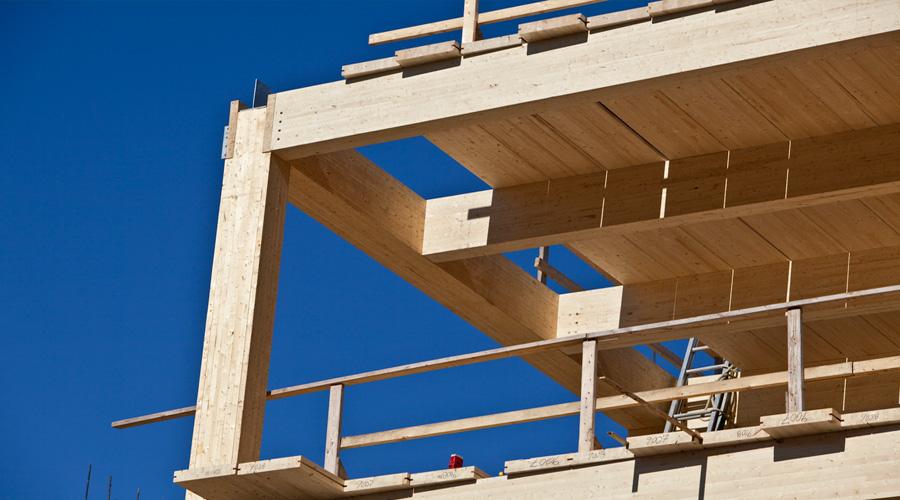 Bient t des difices de grande hauteur en structure bois for Immeuble bureaux structure bois