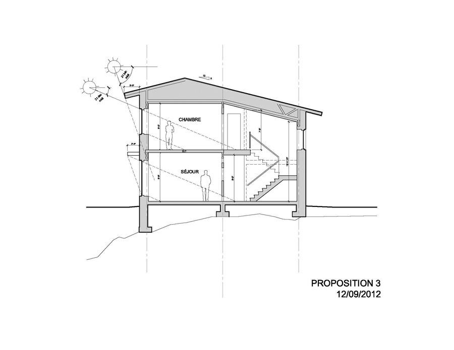 Naissance d 39 une maison solaire passive hyper performante for Conception d architecture pour la maison