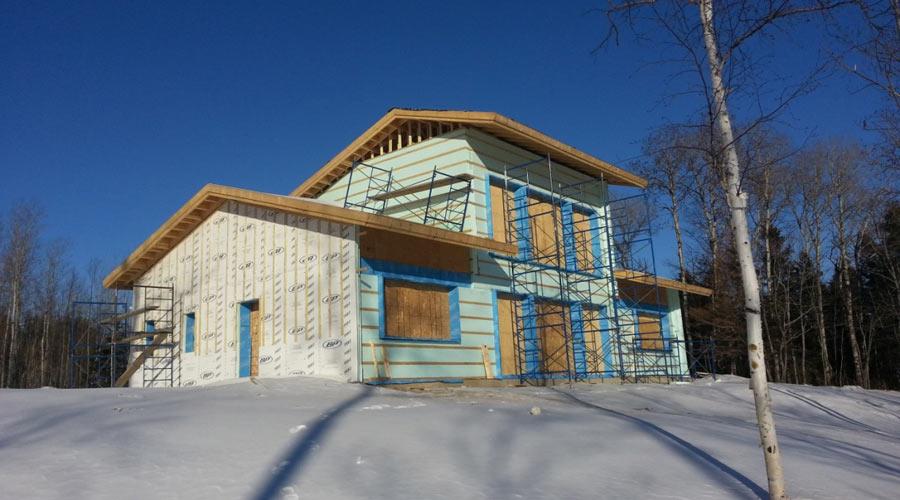 Naissance d 39 une maison solaire passive hyper performante for Nouvelle conception de plan de maison