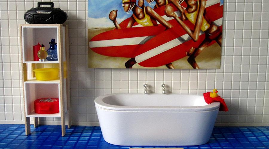 Moisissures dans la salle de bains s 39 en d barrasser pour for Moisissures salle de bain