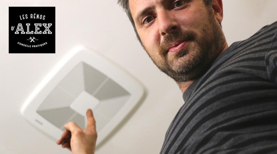 Les r nos d 39 alex comment ventiler une salle de bain for Installer un ventilateur de salle de bain