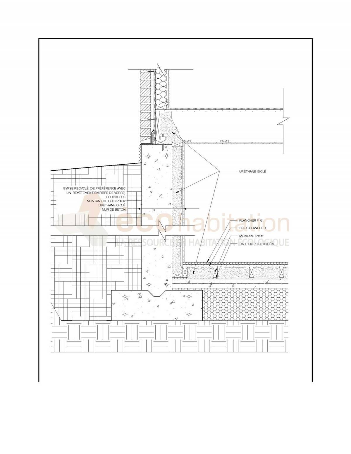 Comment Isoler Son Garage Moindre Cout isolation, fondations, drainage: meilleures pratiques pour