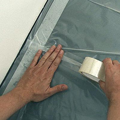 Poser un mat riau imperm able sur le sol avant de couler for Pose sol stratifie sur carrelage