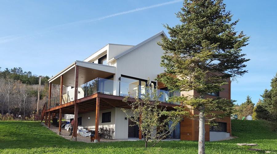 LHeure Bleue Deuxime Maison Certifie Leed V Platine Au Canada