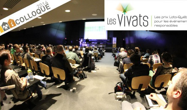 Le Colloque Écohabitation 2014 en nomination aux Vivats