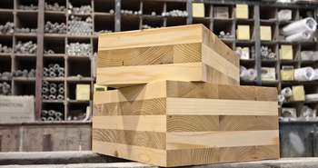 bois lamellé croisé CLT cross laminated timber