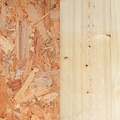 OSB et plywood