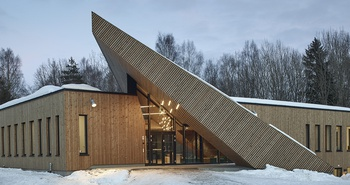 Powerhouse Drøbak Montessori Secondary School © Snohetta