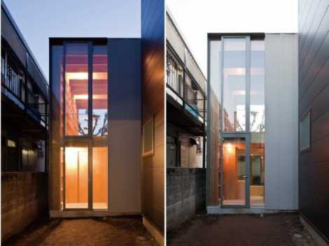 Une maison ultra compacte petite merveille japonaise