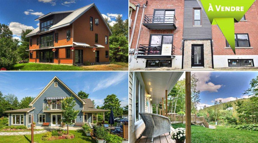 Maisons et condos à vendre