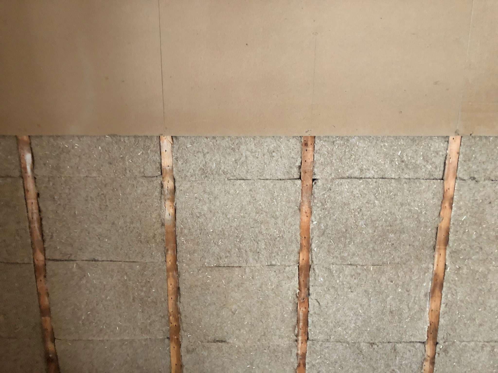 Isolation Phonique Mur Chambre le panneau d'isolation en chanvre, gagnant sur toute la